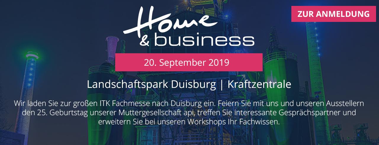 Home & Business - die große ITK Fachmesse