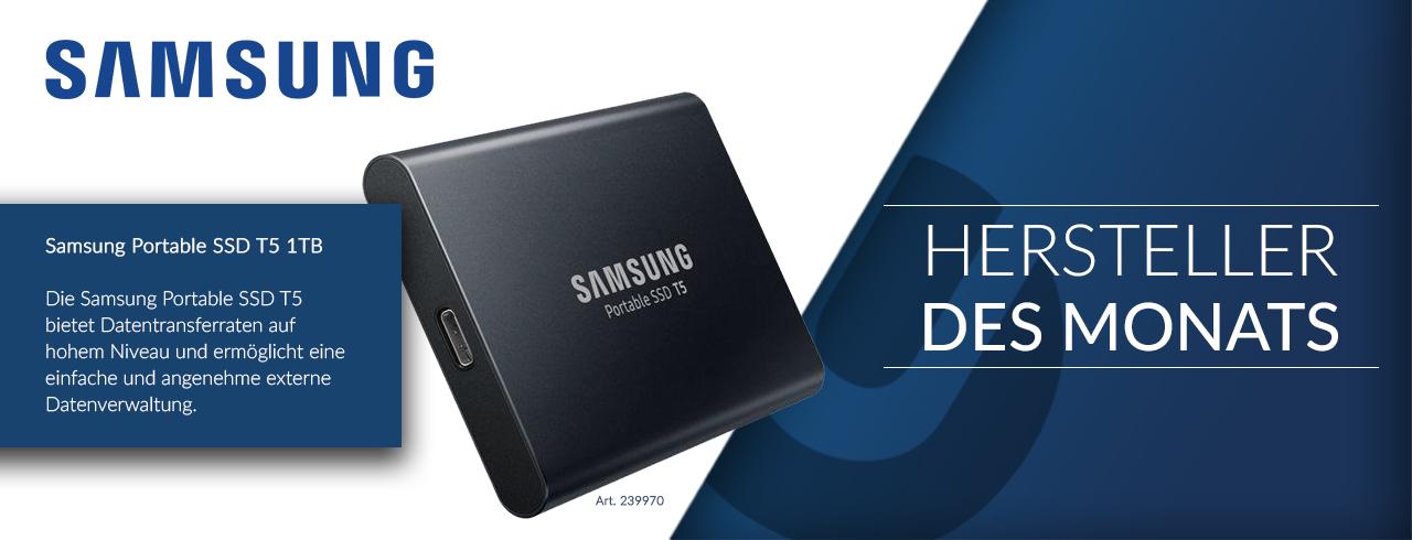 Samsung ist unser Hersteller des Monats